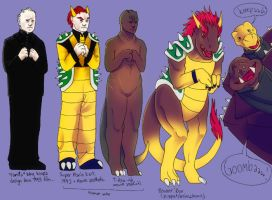 King Koopa Redesigns by muffin-wrangler