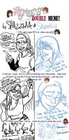 Doubles Meme - with SKWINKY by Shazzbaa
