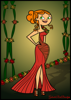Izzy the Floral Glam Queen! by Galactic-Red-Beauty