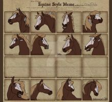 Equine Style Meme by abosz007