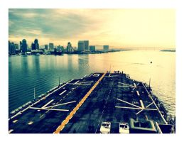 A Naval View of San Diego by CaseyAdamF