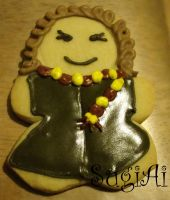 Hermione Granger Cookie by SugiAi