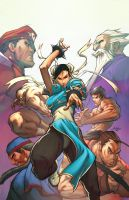 Street Fighter: ChunLi Legends by deffectx
