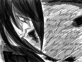 The words you will never hear, My dear by AriaNightsinger
