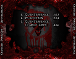 Quintessence Back Cover by GoldenSin