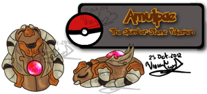 Stone Bug Fakemon by Twin-Divinity
