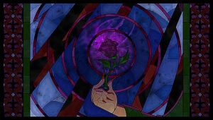 The Rose She Offered- Closeup: Wallpapers by The-Cat-Speaks