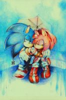 Sonamy: In the rain by arina-ivanova-1999