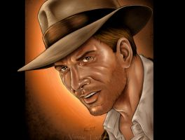 Indiana Jones by VinRoc