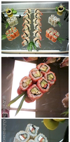 Sushi by Candistache