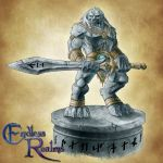 Endless Realms bestiary - Living Statue by jocarra