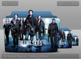 Falling Skies - Tv Series Folder Icon by atty12
