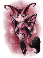 Miss Adoptables - Miss Witchy - AVAILABLE by OuttatheBlueSkye