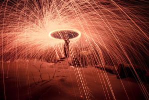 Steel wool photography by melancholicphotos