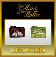 Leopard The Heart, She Holler Folders by TMacAG