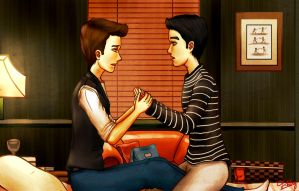 Klaine-The First Time ? -2 by Yihbey