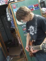 Guitar Playingness. by imagination-goes-far