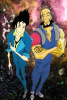 Cowboy Bebop- Spike and Jet2 by WinstonWilliams
