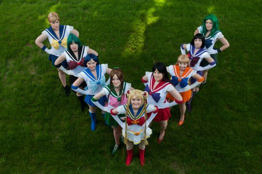 Sailor Moon: All Together Now by AydenGracePhoto