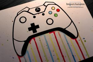 Daily Drawing #3 - Xbox One Controller [Vlog] by ImportAutumn