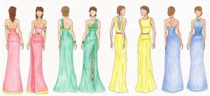 Ball Gown Fashion Design - Avatar OC's by ardnemla