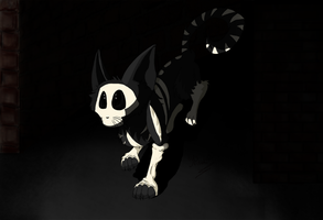Creature of the darkness by punki123