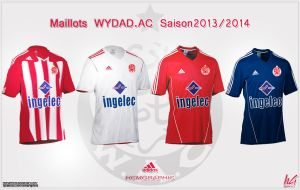 Maillots WYDAD-AC 2013-2014 by hichamhcm