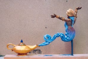 Genie Maquette 5 by dreamfloatingby