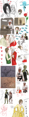 Amnesia Doodles :D by JJ-Power