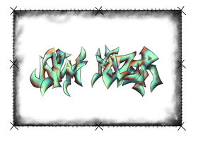 Nyan Klazer Graffiti by Anzoul