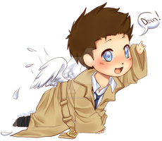 Cas Baby by Love-The-Nekos