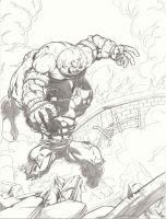 Hulk vs Juggernaut by LakLim