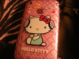 Hello Kitty IPhone by inuyashagirl87