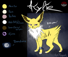 -Ref Sheet- Kylie by Chimaruk