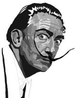 Salvador-dali new Pen work 3 by daylover1313