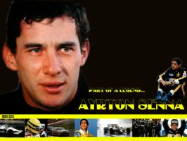 Ayrton Senna: part of a legend by AGS