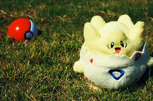 Togepi, I choose you. by pingufugu