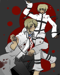 DOCTOR HERO WITH PATIENT IGGY by akitokun1