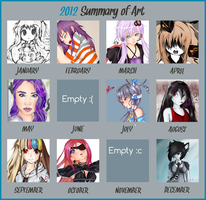 Art summary 2012 by Pcyzicus