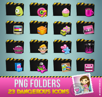 Dangerous Cute Folders by Isfe