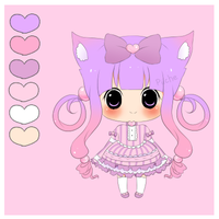 Adoptable- Pastel Loli [Closed] by myaoh