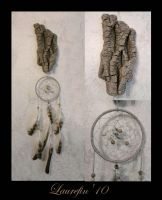 Wood - dreamcatcher by Laurefin-Estelinion