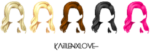 Super model hair {recolored} ~ by kaitlenxlove