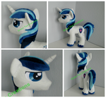 Shining Armor plush by GreenTeaCreations