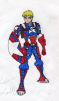 Steve Rogers Jr (redo) by supertodd9