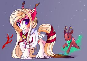 Winter Adoptable Auction: Fox Pony [CLOSED] by Wilvarin-Liadon