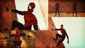 Spider-Man Ben Reilly GTA SA Skin by robinosuke