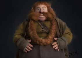 Tribute to Bombur by DreamingMerchant