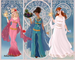Goddess Who Companions 1: Rose, Martha and Donna by Saphari
