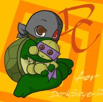 TMNT: DC with Don plushie by NamiAngel